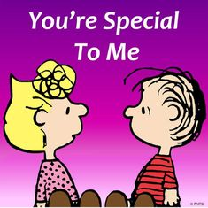 You are special Snoopy Images, Snoopy Pictures, Peanuts Cartoon, Peanuts Snoopy, Peanuts Comics, Cute Cartoon Drawings, Cartoon Pics, I Love You Quotes, Sweet Quotes