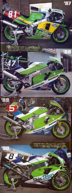Kawasaki ZXR750 model/year