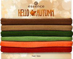 hello autumn - gumki do włosów 01 #outdoor yoga - essence cosmetics