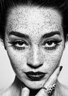 Freckles by Irving Penn - one of my greatest inspirations, he made me the photographer I am today