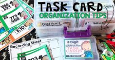 Task cards are the perfect way to prepare for a test, practice skills in small groups during centers, or even... Read Post