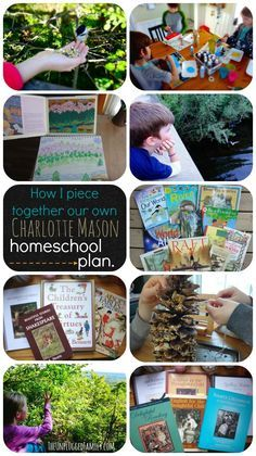 How to put together your own Charlotte Mason homeschool plan from TheUnpluggedFamily.com.
