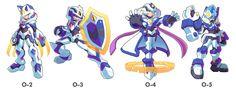 Commission: Model O-2,O-3,O-4 and O-5 by ultimatemaverickx.deviantart.com on @DeviantArt