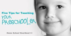 Five tips for homeschooling your preschooler. Find a station or listen now >>