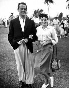 Judy Garland and husband Sid Luft