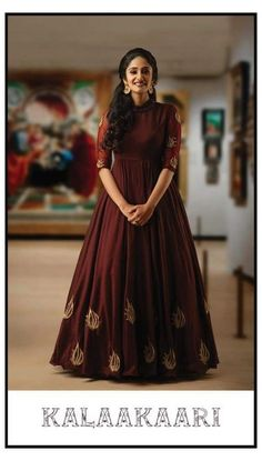 Indian Fashion Dresses, Indian Gowns Dresses, Dress Indian Style, Indian Designer Outfits, Designer Gowns, Indian Long Dress, Frock Fashion, Saree Fashion, Indian Wear