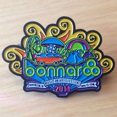 Bonnaroo 2014 Hat Pin by FestyHatPins on Etsy, $16.00