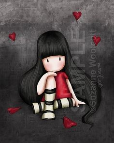 Heart Gorjuss Girl