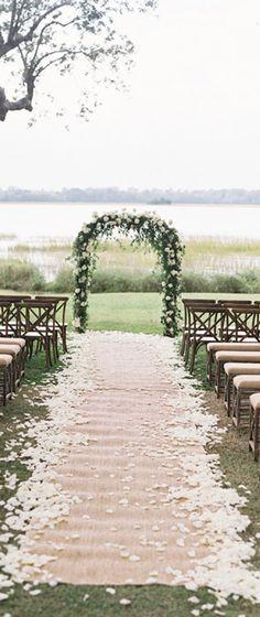 Lakeside Wedding