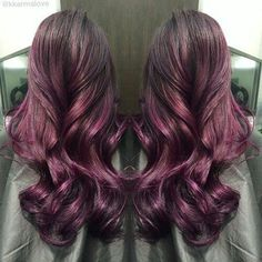 red plum hair color - Google Search