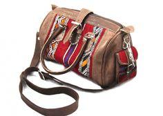 Kilim Leather Handbag $110.00