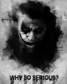 Reposting Lazybatman0 Why So Serious Joker Batman Dccomics Dc