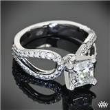 Customized Infinity Diamond Engagement Ring! I think I'll ask for this for my 10th anniversary!