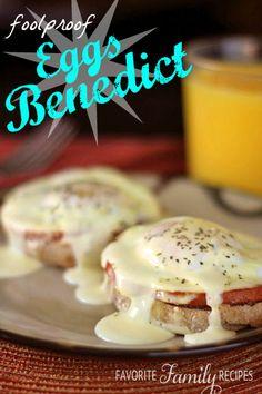 Eggs Benedict has never been easier!