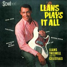 Llans Thelwell, Celestials - Llans Plays It All (LP) - ReggaeRecord.com