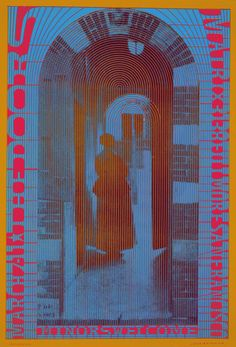 The Doors, March 7, 1967 - Matrix (San Francisco, CA.) Art by Victor Moscoso.
