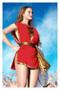 Character: Mary Marvel (Mary Batson) / From: DC Comics 'Captain Marvel Adventures' & 'The Power of Shazam!' / Cosplayer: Not a Cosplay Marvel Cosplay, Dc Cosplay, Best Cosplay, Cosplay Girls, Mary Marvel, Captain Marvel Shazam, Marvel Heroes, Marvel Dc, Marvel Comics