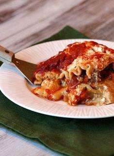 Slow Cooker Lasagna #recipe