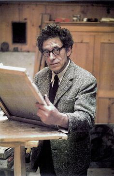 Alberto Giacometti, ses sculptures et son atelier Alberto Giacometti, Giovanni Giacometti, Painter Artist, Artist Art, Artist At Work, New Artists, Famous Artists, Great Artists, Foto Face
