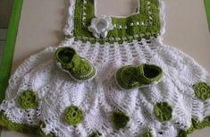 Robes bébés et leurs grilles gratuites , au crochet !