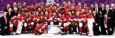 Yaaaa for Team Canada!!! Olympic Gold Medal Men's Hockey 2014!!!