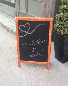 Yksinkertainen, pirteä ja kutsuva (paikka Helsinki/tuntematon)