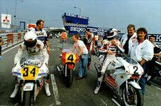 Kevin Schwantz ( right )