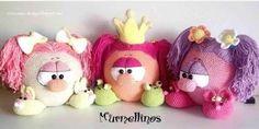 Murmellinos chicas - PatronesMil