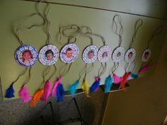 "Proyecto:""Jugamos a los indios"" XIII Semana Cultural ""50 Aniversario"" Aboriginal Art For Kids, Le Far West, Thanksgiving Crafts, Wicca, Cowboys, Dream Catcher, Native American, Diy And Crafts, Happy Birthday"