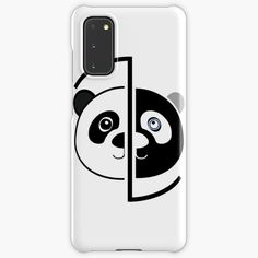 Samsung Cases, Samsung Galaxy, Phone Cases, Panda Head, Apple Tv, Protective Cases, Bright Colors, Remote, Printed