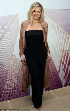 She gets it right: Khloe Kardashian, seen attending an Allergan KYBELLA event at IAC Build...