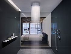 Edmonds + Lee Architects have designed the gorgeous oriental warehouse loft conversion. The project is located in San Francisco's South Beach neighborhoo Contemporary Shower, Modern Shower, Contemporary Bathrooms, Contemporary Style, Dream Bathrooms, Beautiful Bathrooms, Small Bathroom, Basement Bathroom, Loft Bathroom