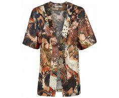 Dressfactor Kimono zijde Chinese vogels