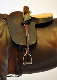 Huntseat Tack Huntseat Set owned and photographed by Erin Corbett, 2009 Huntseat saddle with number pocket pad, 2009 Snaffle b. Pony Saddle, Dressage Saddle, Side Saddle, Diy Horse Toys, Horse Crafts, Miniature Horse Tack, Auction Donations, Play Horse, Western Bridles
