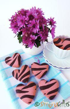 Fursecuri Zebra reteta de post 5 Sweet Recipes, Cooking, Food, Christmas Recipes, Sugar, Pasta, Mariana, Biscuits, Colors