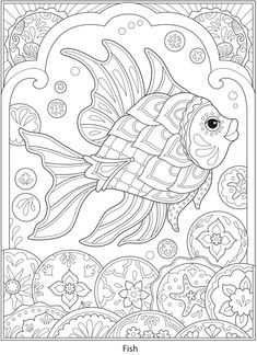 Welcome to Dover Publications - CH Festive Mexican Talavera Designs Ocean Coloring Pages, Coloring Pages For Grown Ups, Detailed Coloring Pages, Love Coloring Pages, Printable Adult Coloring Pages, Mandala Coloring Pages, Animal Coloring Pages, Coloring Books, Abstract Coloring Pages