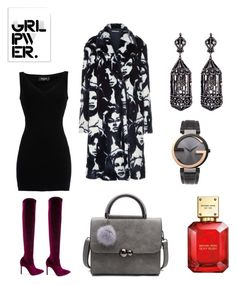 """""""Secret power"""" by cristina-bedopoulou on Polyvore featuring Stupell, Dsquared2, STELLA McCARTNEY, Manolo Blahnik, Amrapali, Gucci and Michael Kors"""