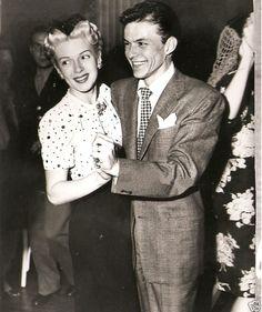 Lana Turner and Frank Sinatra