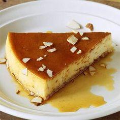 Almond Creme Caramel from Cooking Light Best Gluten Free Desserts, Sugar Free Desserts, Foods With Gluten, Gluten Free Diet, Sans Gluten, Just Desserts, Gluten Free Recipes, Dessert Recipes, Healthy Recipes