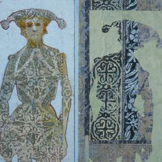 ⌼ Artistic Assemblages ⌼  Mixed Media & Collage Art - Imirror, mirror by annebagby, via Flickr