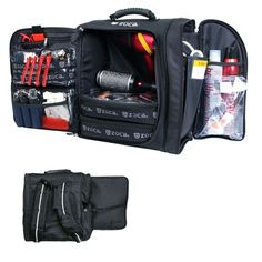 Zuca Backpack- I use this as my hair kit, or a condensed kit for on set gigs.  I got mine at www.naimies.com. You can apply for a pro discount here, and get this for a good deal.