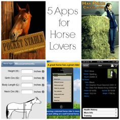 5 Apps for Horse Lovers #cowboymagic #horse apps