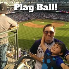 Taking your son to the ballpark doesn't always go as planned, but that's what makes it special. #CoorsField #Rockies #Baseball #BoysOfSummer