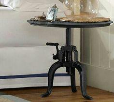 Bedside table,  black,  Pottery Barn