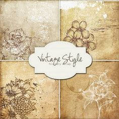 "Freebies Kit - ""Vintage Style Backgrounds"""