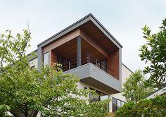 海の見える回廊の家・間取り(神奈川県鎌倉市)   注文住宅なら建築設計事務所 フリーダムアーキテクツデザイン