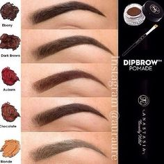 """This stuff is the bomb """"Anastasia Beverly Hills Dipbrow Pomade. I've read in several places that this product is excellent for filling in eyebrows, especially sparse eyebrows. Beauty Make-up, Beauty Hacks, Hair Beauty, Flawless Beauty, Beauty Full, Beauty Tips, Iconic Beauty, Black Beauty, Love Makeup"""