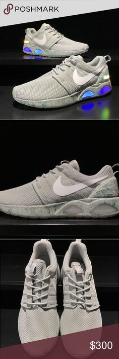 Nike Air Mag Roshe Grey Nike Air Mag We are official retailers of this product  Delivery will take 14 days at most get it faster if you pay through PayPal   Release Date 0.0.2017  We will be taking 5 orders within 30 days. Please make your order quick.  Pay with PayPal and get free shipping   Check my store for other colors available: red,black Nike Shoes Sneakers