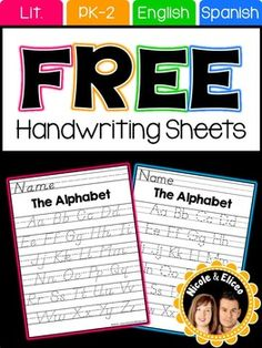 Do your students need extra practice forming letters? We designed this pack with beginner writers in mind. For your convenience we included several differentiated options for basic print, manuscript and cursive handwriting styles. We designed this freebie to say thank you to our 5,000+ followers.