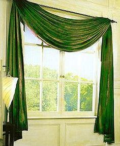 Amazing This Curtain Is A Single Swag And Is Very Easy And Simple To Set Up In
